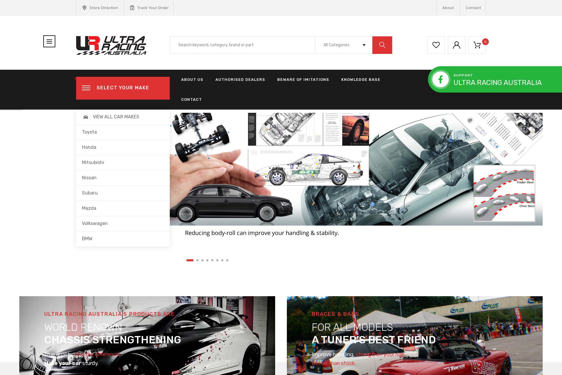 ultra-racing-australia-website